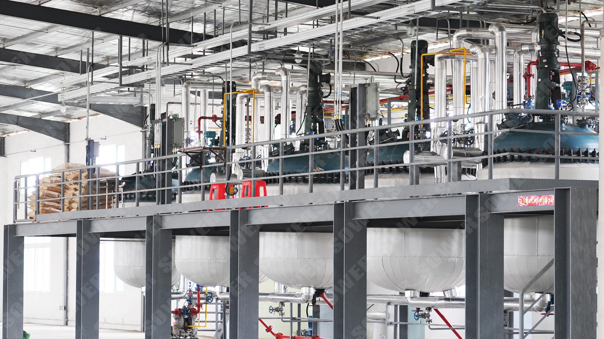 造纸化学品行业应用