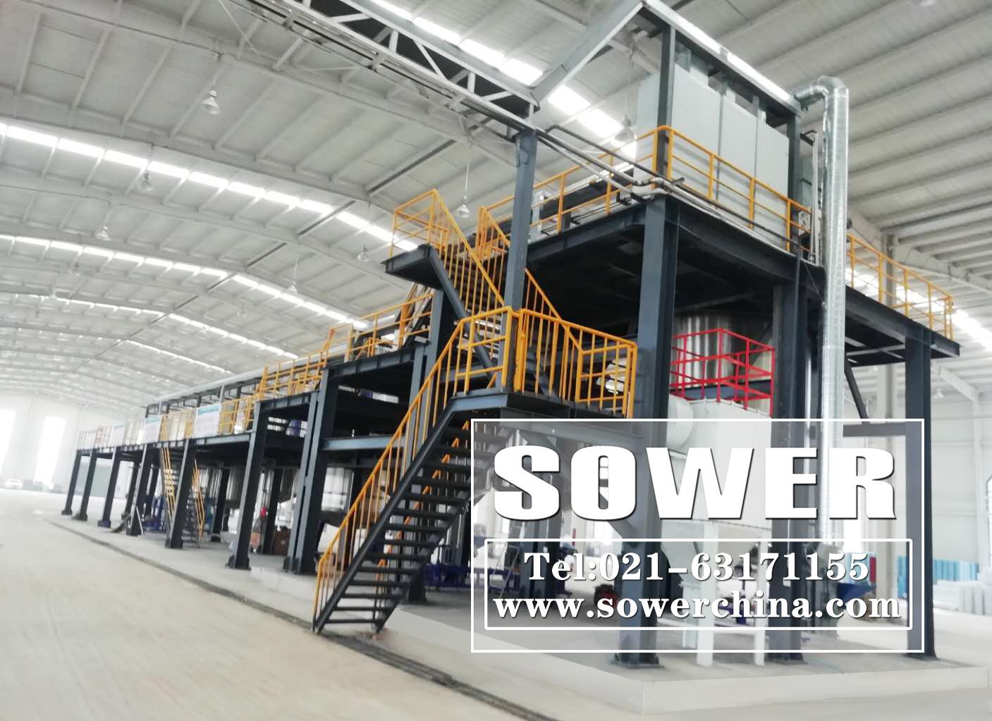 SOWER又一个年产十万吨建筑涂料生产线顺利竣工投产